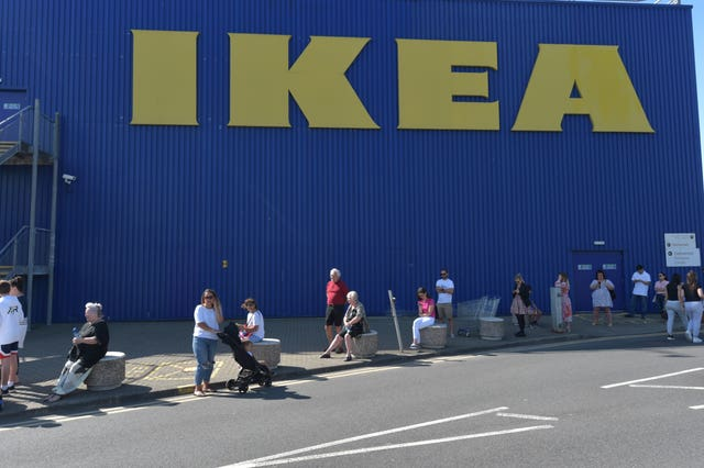 Ikea store queue