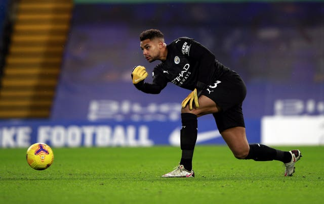 American goalkeeper Zack Steffen has played in City's last three games