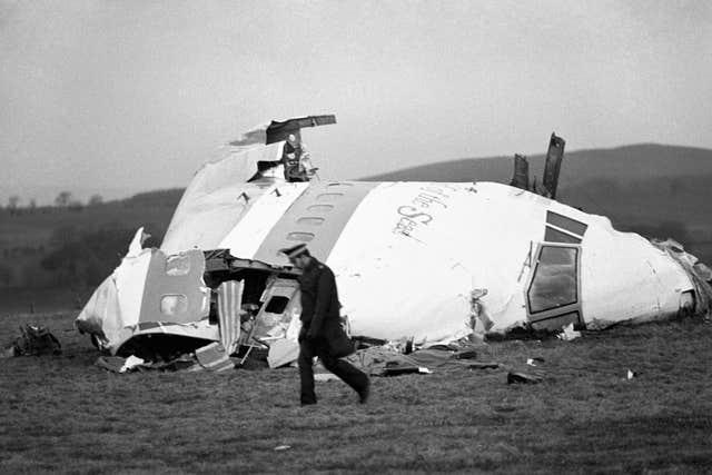 Lockerbie bombed