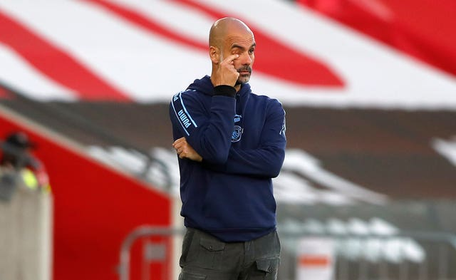 Pep Guardiola was disappointed with his side's display