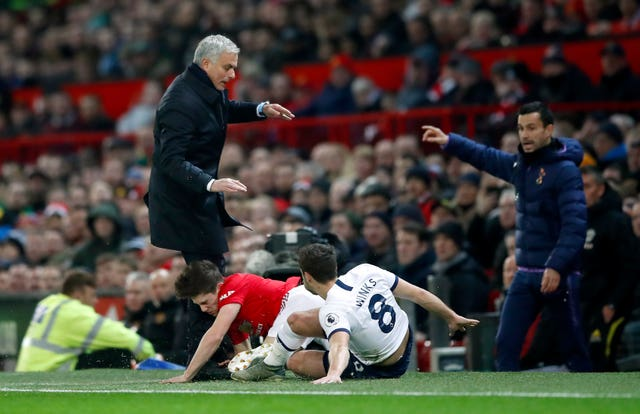It was a painful return to Old Trafford for Jose Mourinho