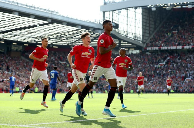 Manchester United's line-up mixed youth with experience