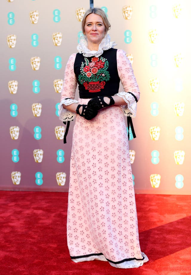 Edith Bowman at the Baftas