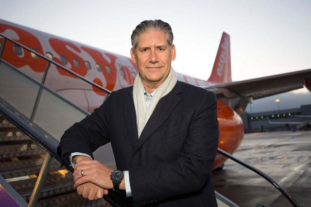 EasyJet boss Johan Lundgren said 'billions of euros have been poured into a number of our competitors' (EasyJet/PA)