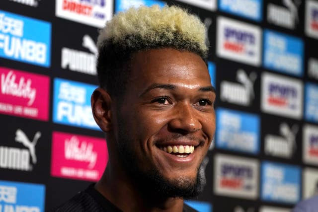 Newcastle's club record signing Joelinton, pictured, will not be the last summer signing, says Bruce
