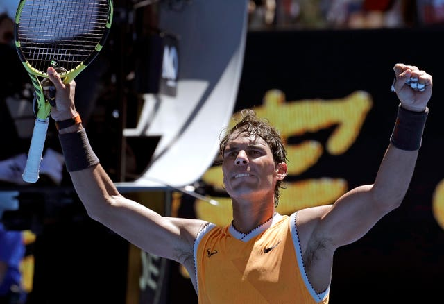 Spain's Rafael Nadal eased past James Duckworth