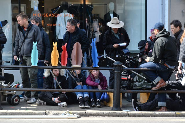 Peter Rabbit filming