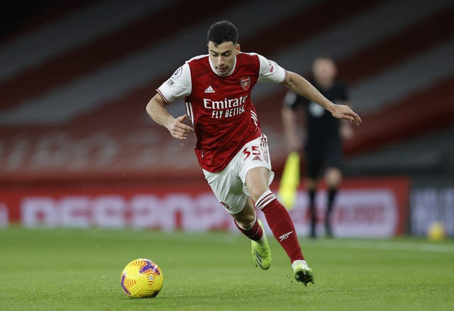 Gabriel Martinelli has struggled to break into the Arsenal side of late.