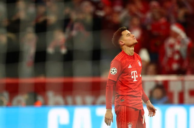 Philippe Coutinho scored as Bayern took advantage of Tottenham's fringe players