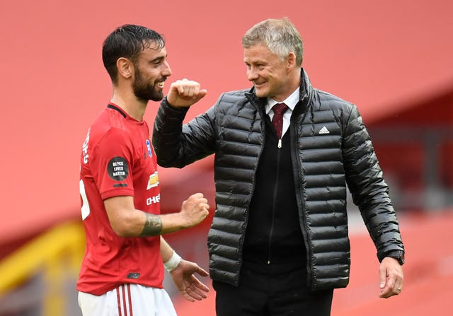 Bruno Fernandes helped Manchester United recover from a poor start.