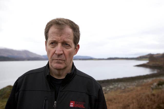 Alastair Campbell explores hope of 'happier life' in BBC mental