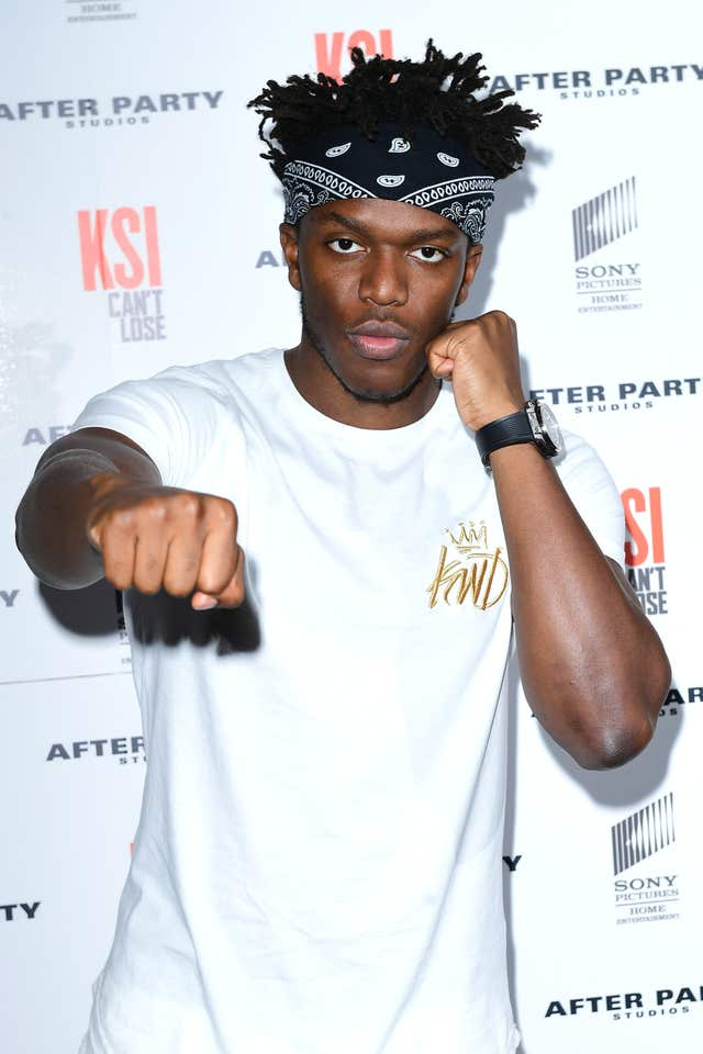 KSI: Can't Lose world premiere – London