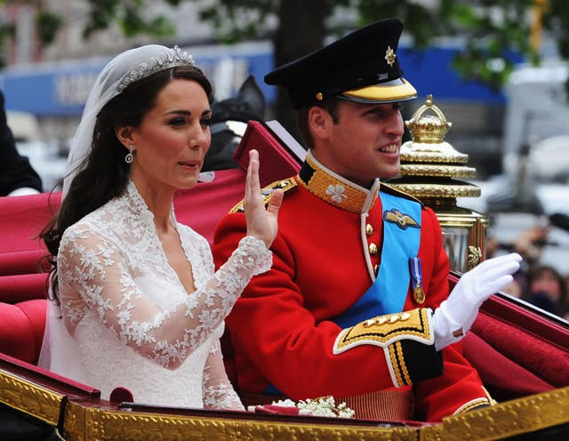 The Duke and Duchess of Cambridge invited a large number of politicians and dignitaries to their 2011 wedding. (Jasper Juinen/PA Wire)