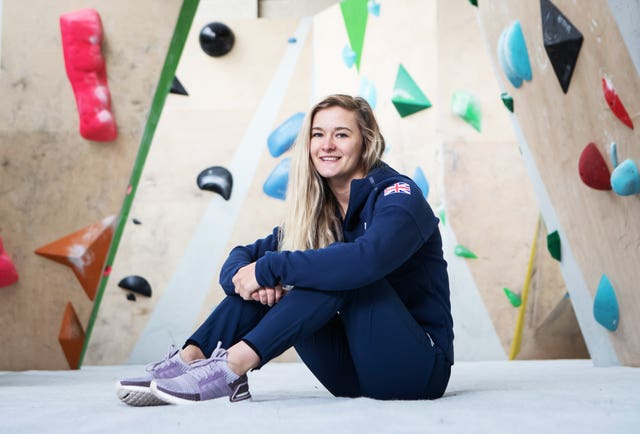 Climber Shauna Coxsey is a medal hope for Toyko