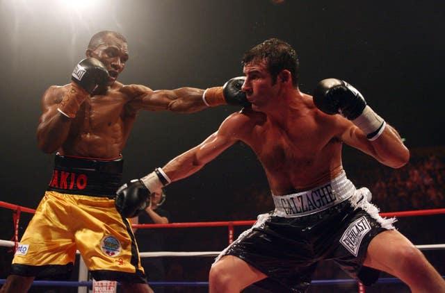 Sakio Bika, left, will be Benn's opponent