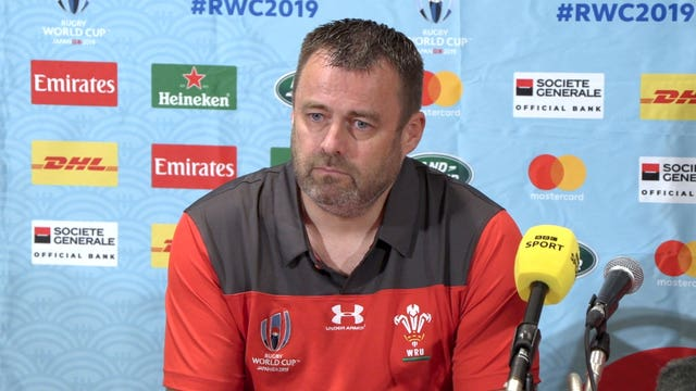 Wales Press Conference – Kitakyushu