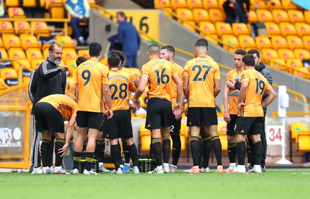 Wolves had not conceded a goal until the defeat on Saturday