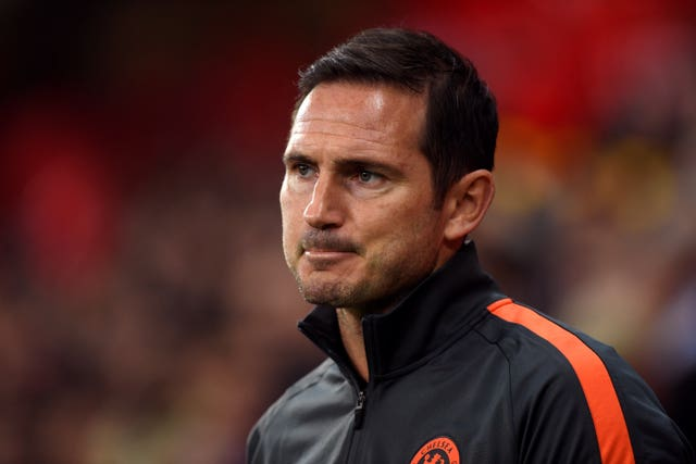 Frank Lampard's side travel to Southampton on Sunday