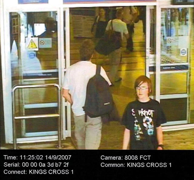 Missing Andrew Gosden