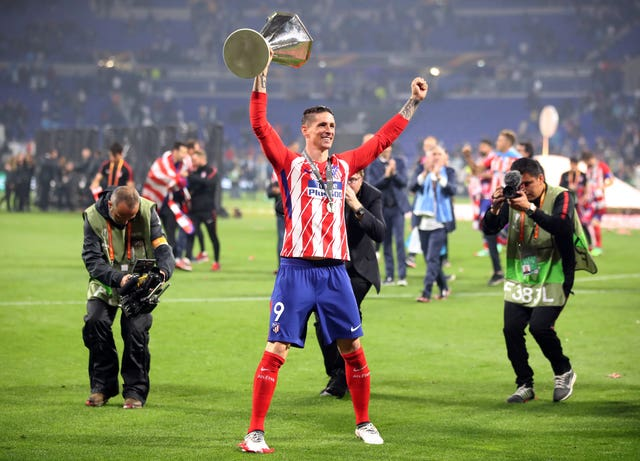 Torres tasted Europa League glory again last year, this time with Atletico