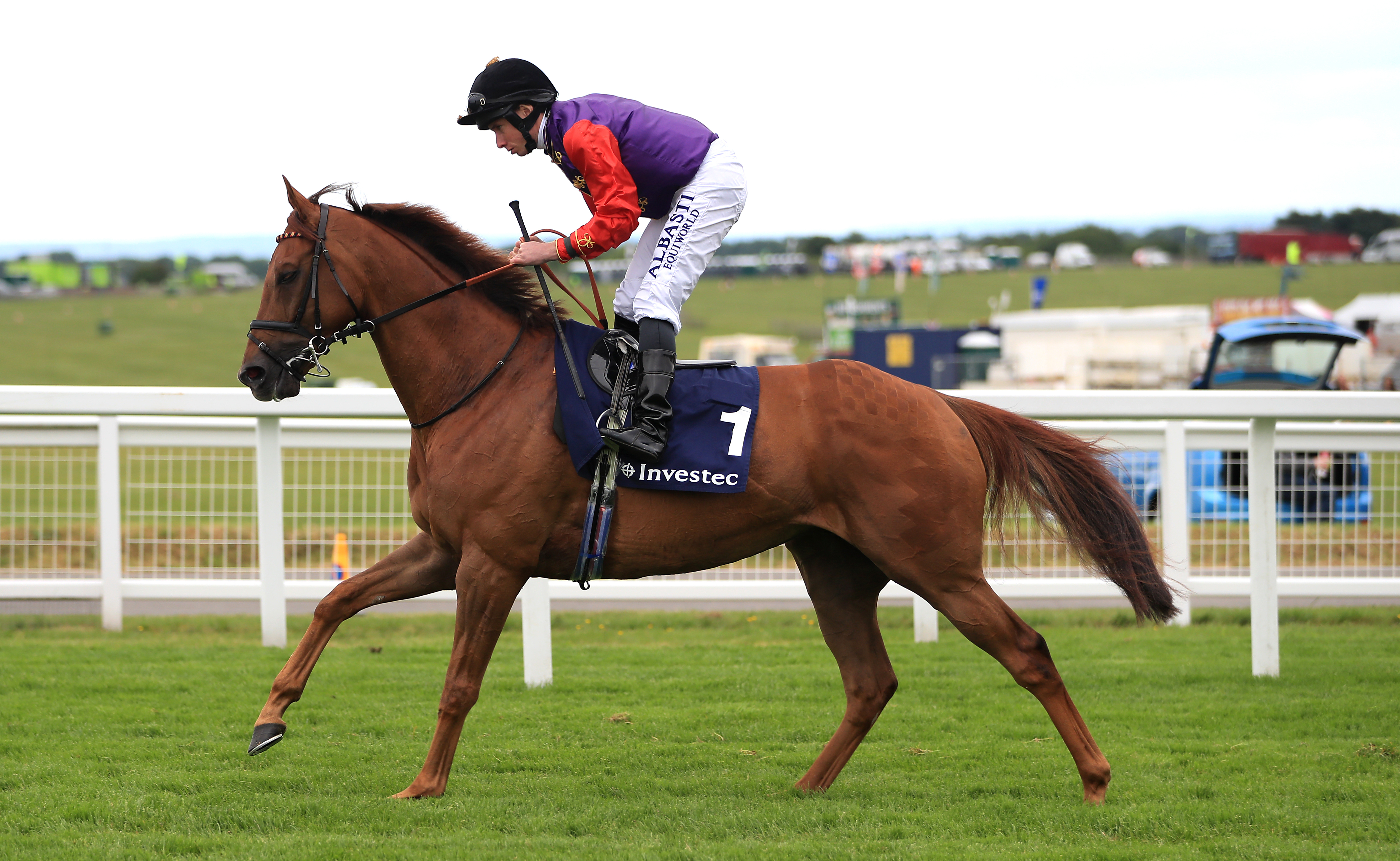 Seniority will bif for back-to-back victories in the Unibet Golden Mile at Goodwood (Simon Cooper/PA)
