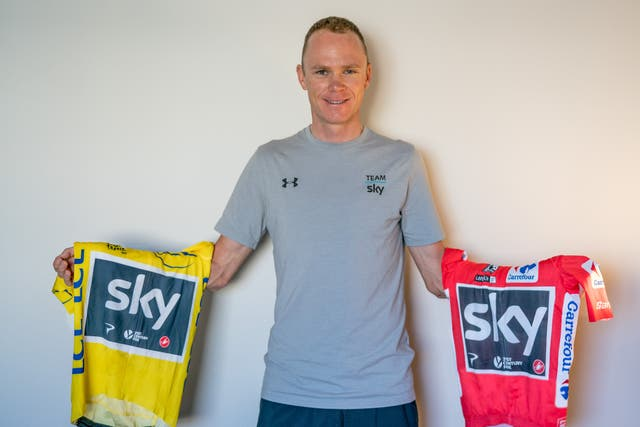 Chris Froome Handout Photo