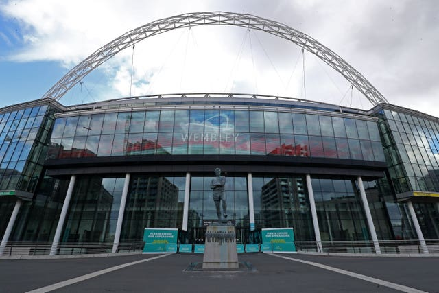 Wembley hosts the Euro 2020 final in July