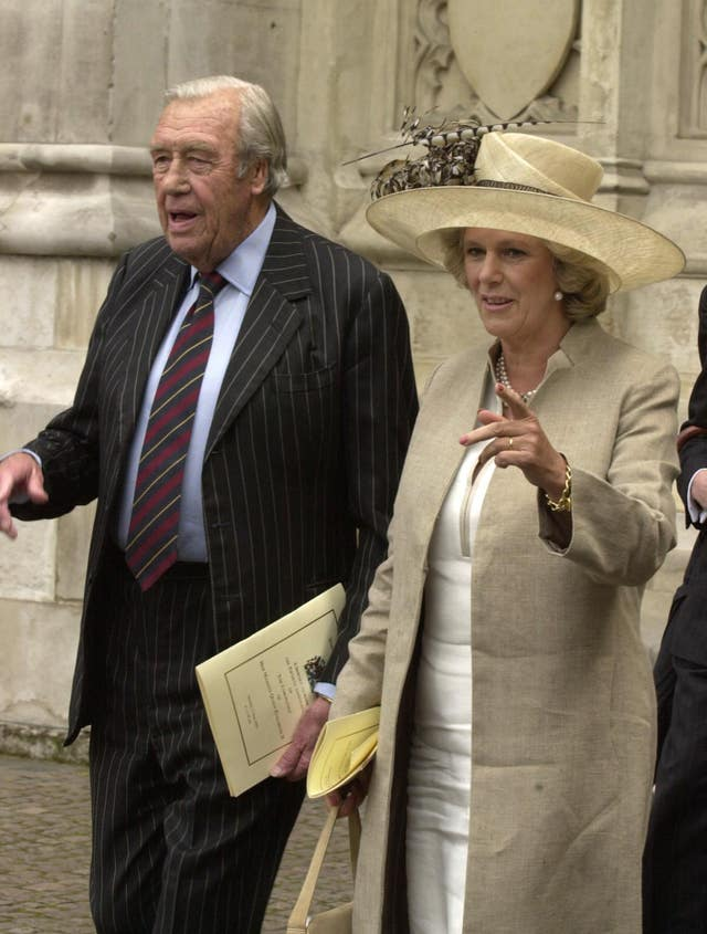 Camilla and her father