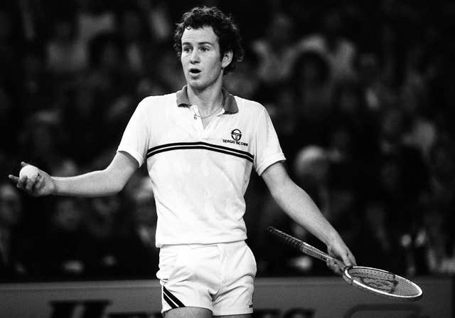 David Mercer enjoyed a a run-in with John McEnroe