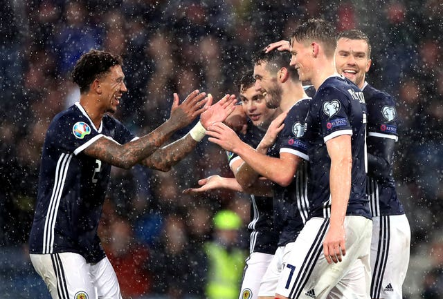 Scotland hammered San Marino in their last outing
