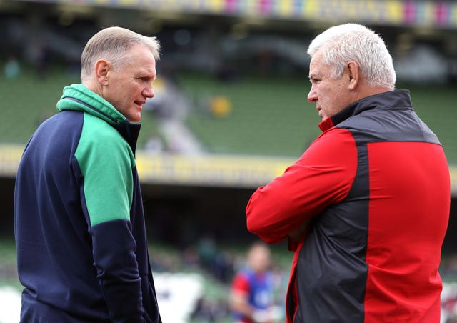 Joe Schmidt (left) and Warren Gatland both have injury worries to contend with