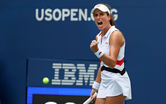 Johanna Konta beat third seed Karolina Pliskova in the fourth round