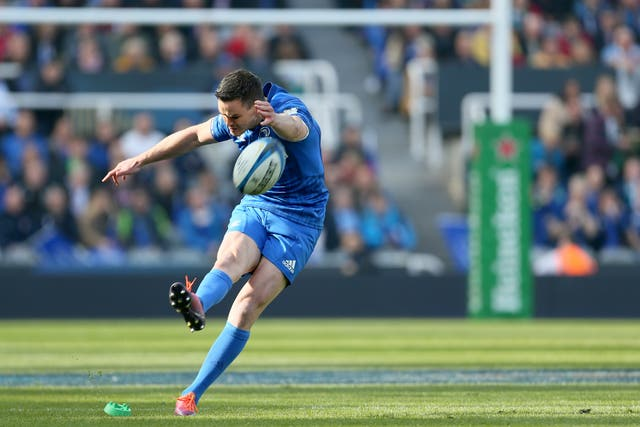 Leinster's Johnny Sexton landed an early penalty