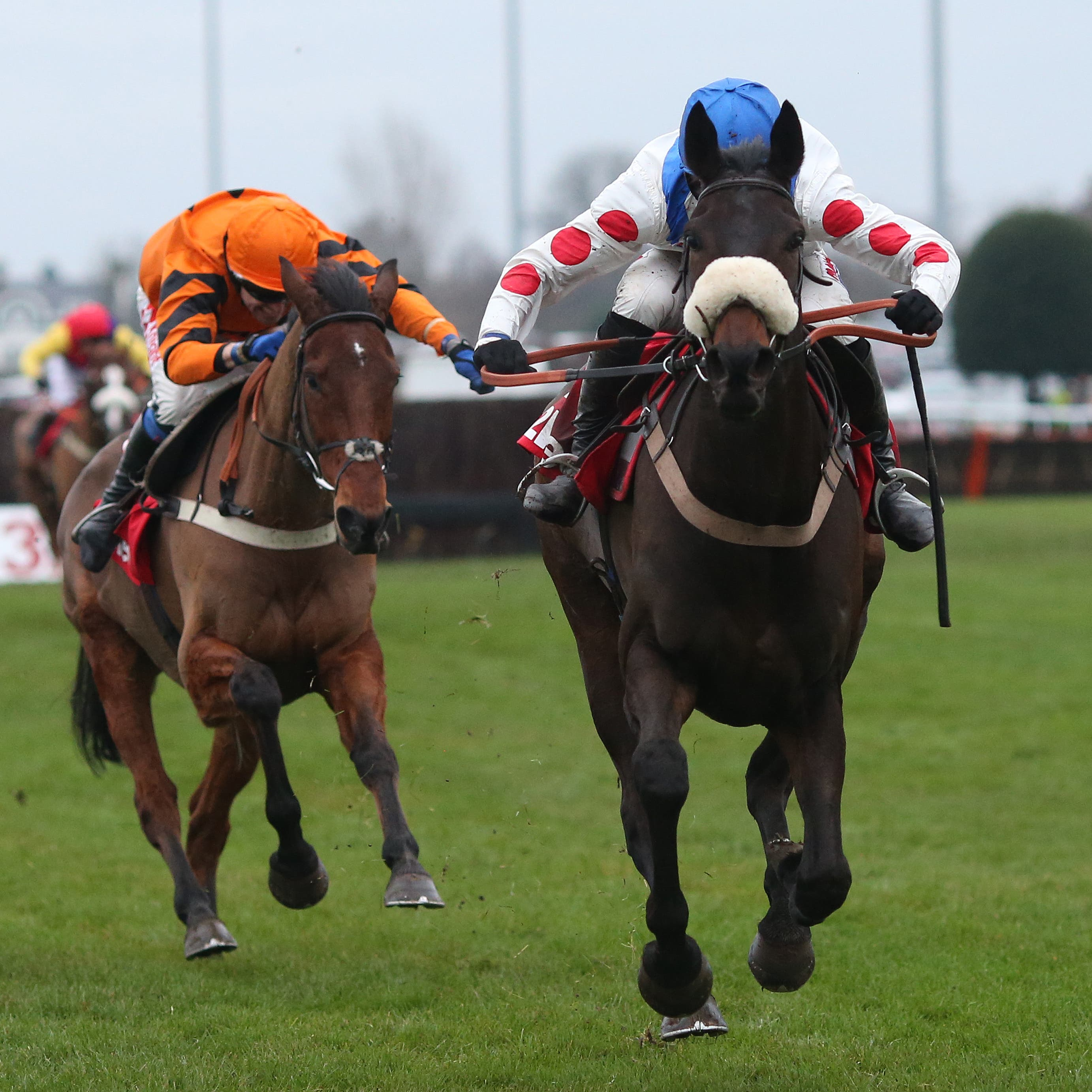 Clan Des Obeaux beat Thistlecrack in the King George