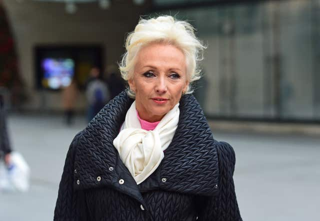 Strictly Come Dancing contestant Debbie McGee (David Mirzoeff/PA)