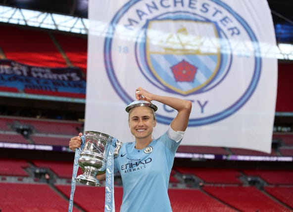 Manchester City Women v West Ham Ladies – Women's FA Cup – Final – Wembley Stadium
