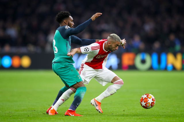 Frank Lampard was impressed with the way Ziyech performed in the Champions League last season