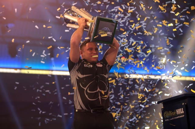 Gerwyn Price held his nerve to win the PDC World Championship for the first time with victory over two-time champion Gary Anderson at Alexandra Palace
