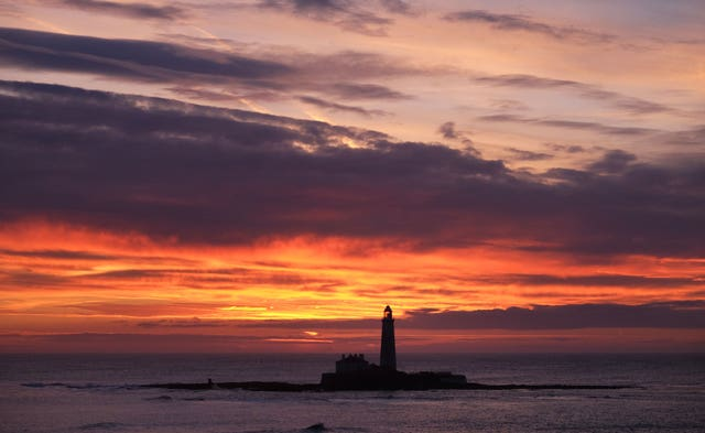 St Mary's Lighthouse at Whitley Bay, North Tyneside