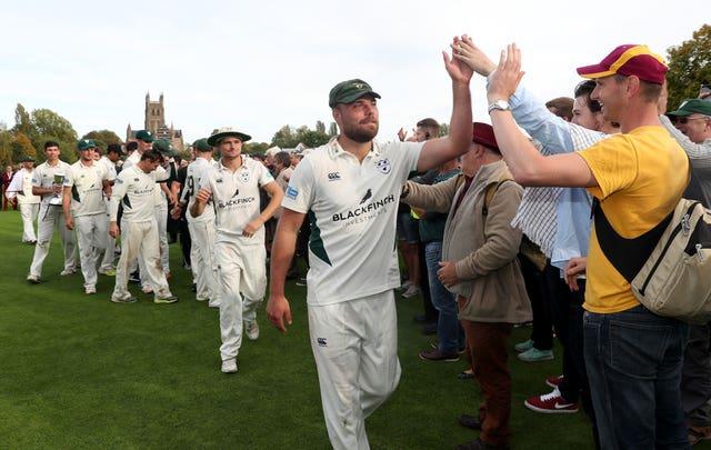 Worcestershire captain Joe Leach is missing the cricket season.