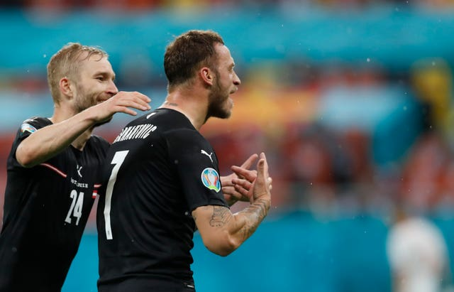 Arnautovic apologised for the use of