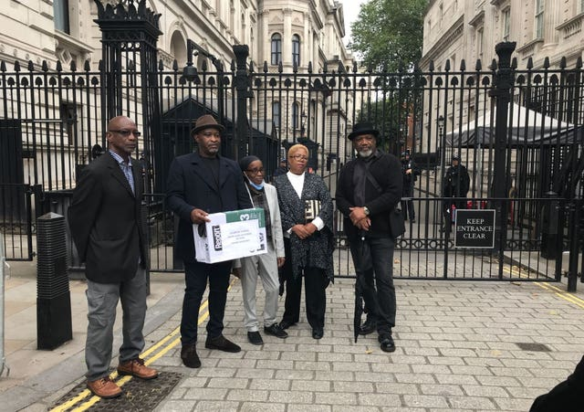 Windrush campaigners