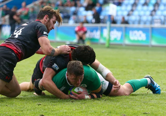Ireland v Georgia – 2016 Rugby Union Under 20's World Championship – City Academy Stadium