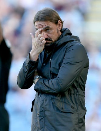Norwich manager Daniel Farke saw his side struggle to create too many openings