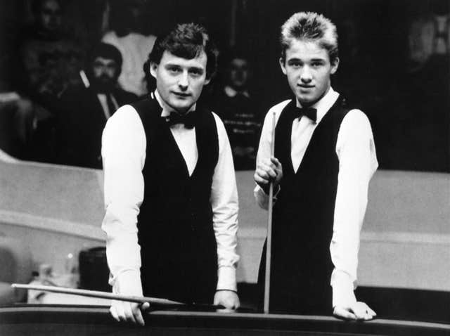Snooker – 1988 World Snooker Championship – Second Round – Jimmy White v Stephen Hendry – Crucible Theatre, Sheffield