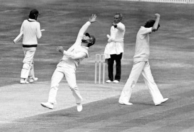 A brilliant spell by Bob Willis gave England a famous victory in 1981