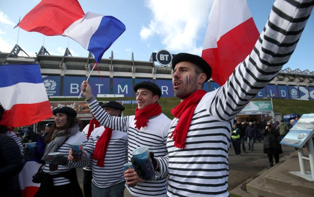 Murrayfield hosted France and Scotland fans on March 7
