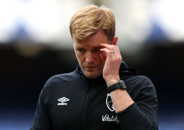 Eddie Howe's long tenure at Bournemouth ended with their relegation
