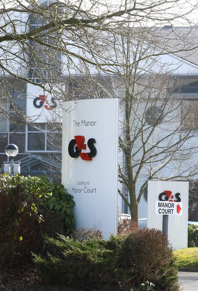 G4S sign