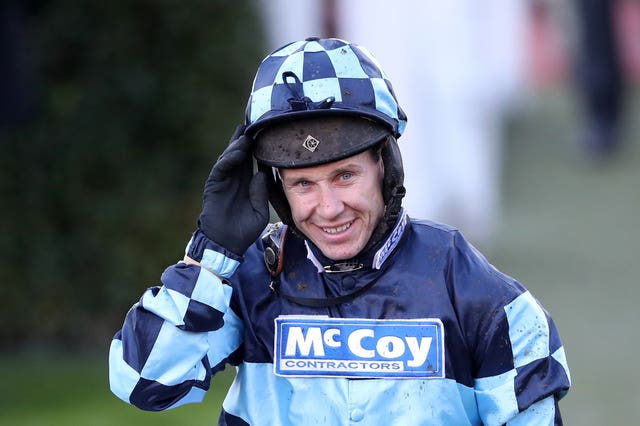 Jump jockey Richard Johnson has been awarded an OBE.